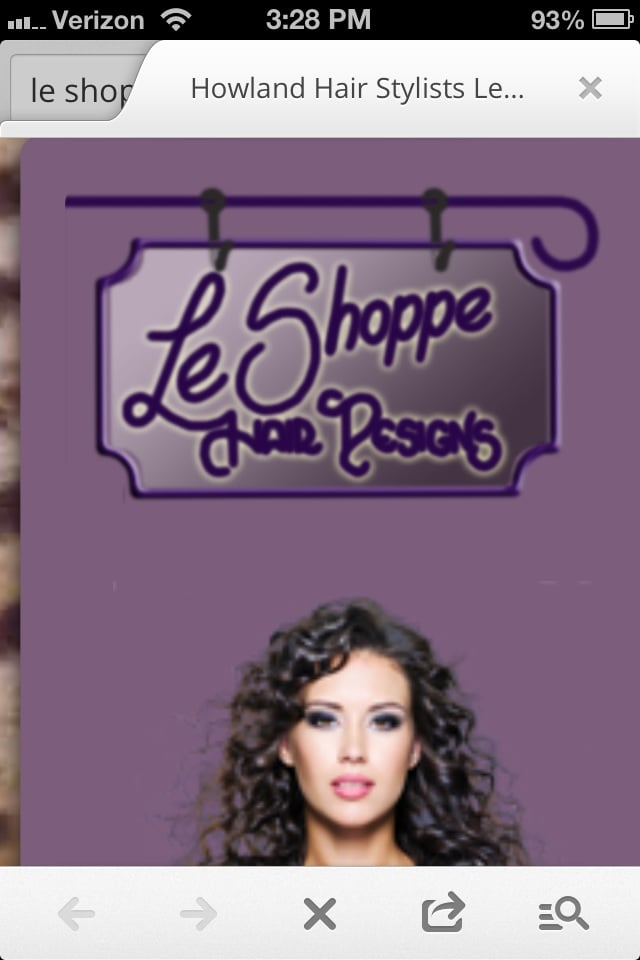 Le Shoppe Hair Designs: 8024B E Market St, Warren, OH