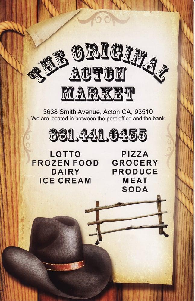 The Original Acton Market: 3638 Smith Ave, Acton, CA