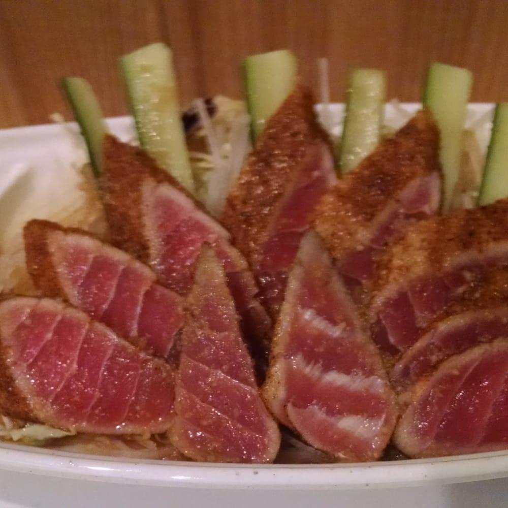 Cajun tuna sashimi yelp for Akane japanese fusion cuisine