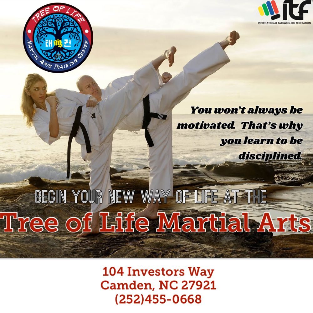 Tree of Life Martial Arts Training Center: 104-A Investors Way, Camden, NC