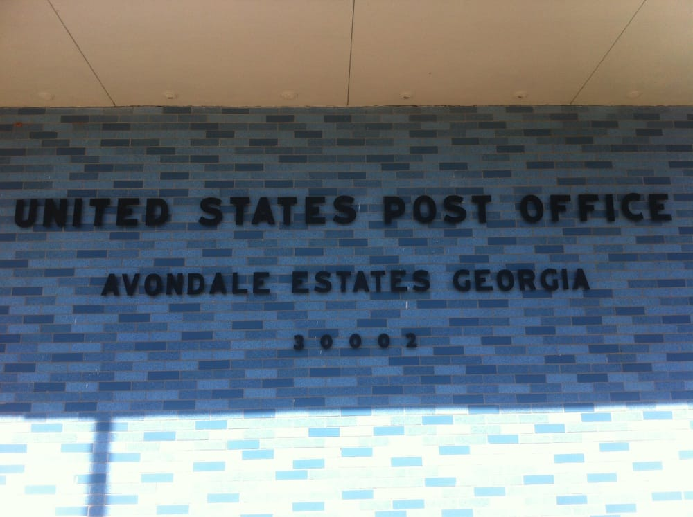 United States Post Office: 15 Franklin St, Avondale Estates, GA