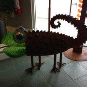Sklar Furnishings Photo Of Sklar Furnishings   Boca Raton, FL, United  States. Chameleon Sculpture