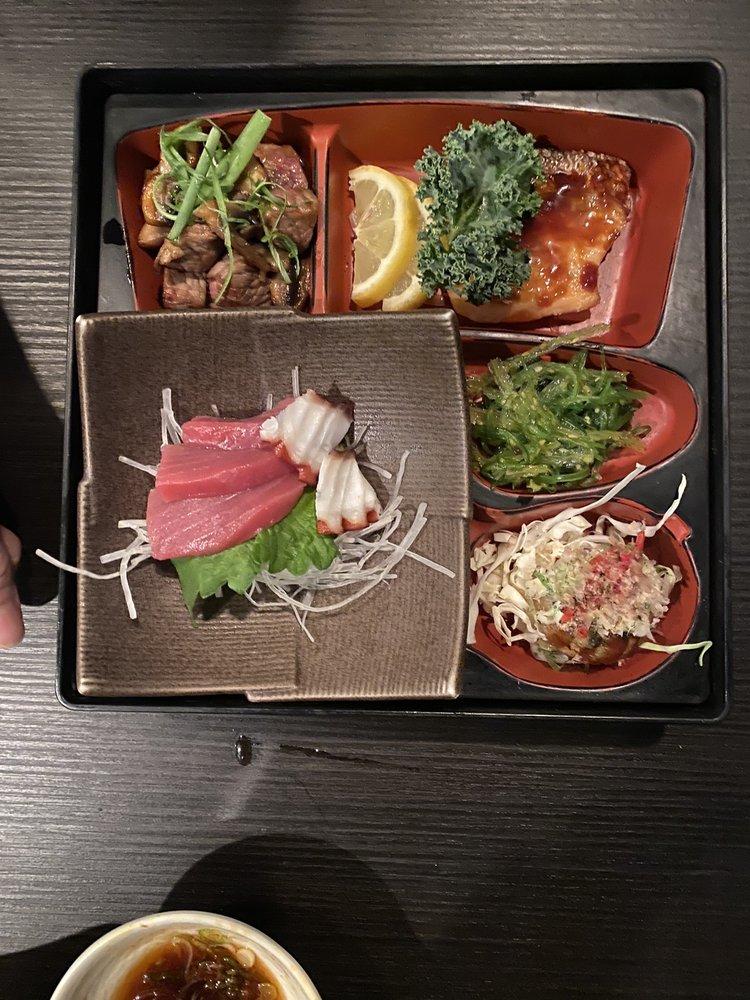 Food from Yuki Japanese Restaurant