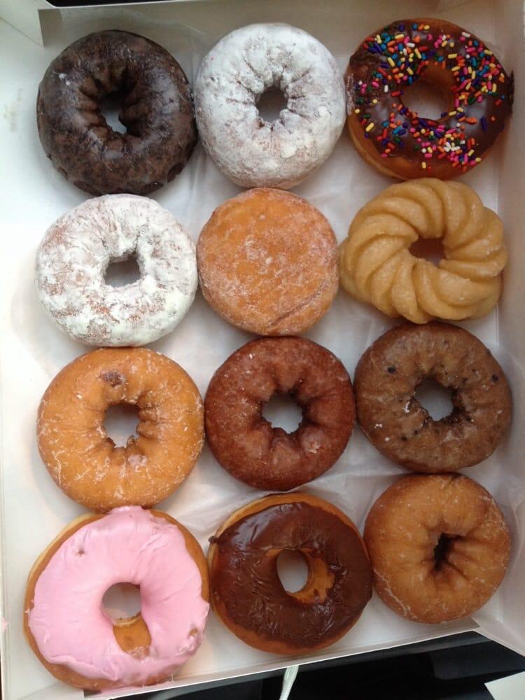 Dozen Donuts Assorted Variety Yelp