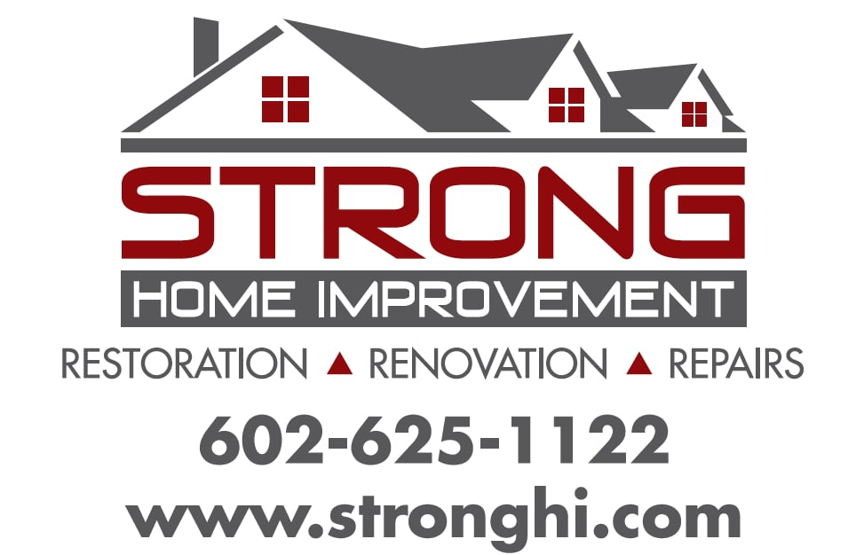 New Logo For Strong Home Improvement