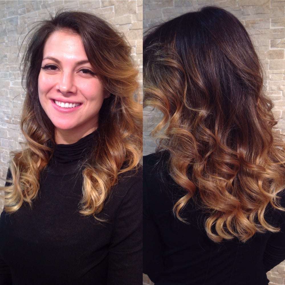 Natural flowing balayage yelp for Aaron emanuel salon