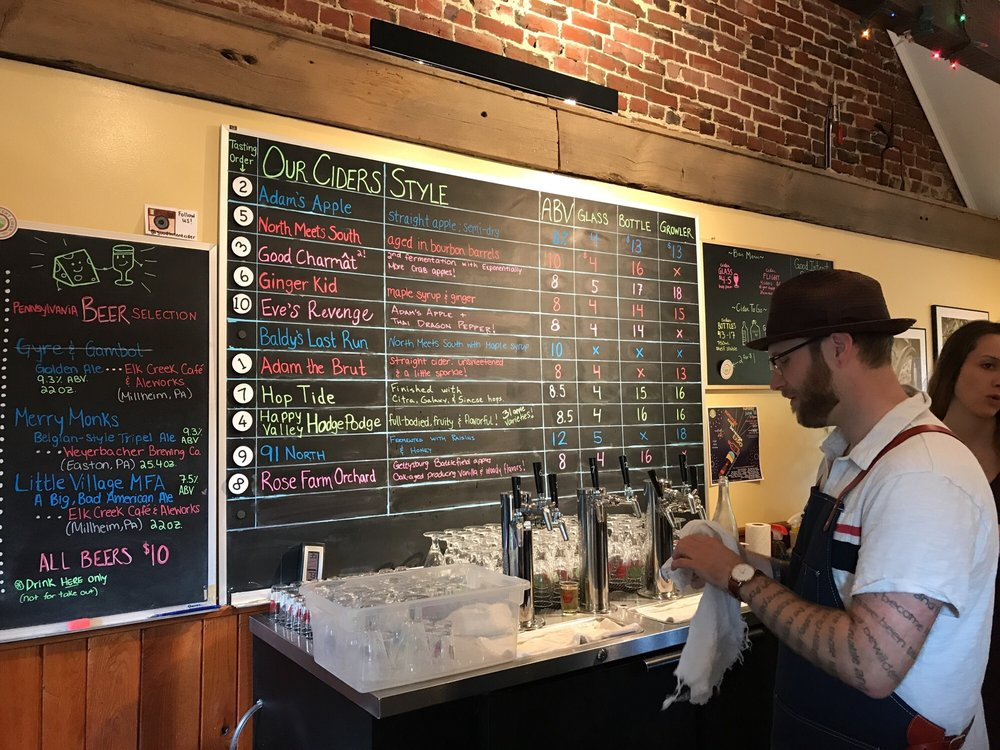 Good Intent Cider: 167 S Potter St, Bellefonte, PA