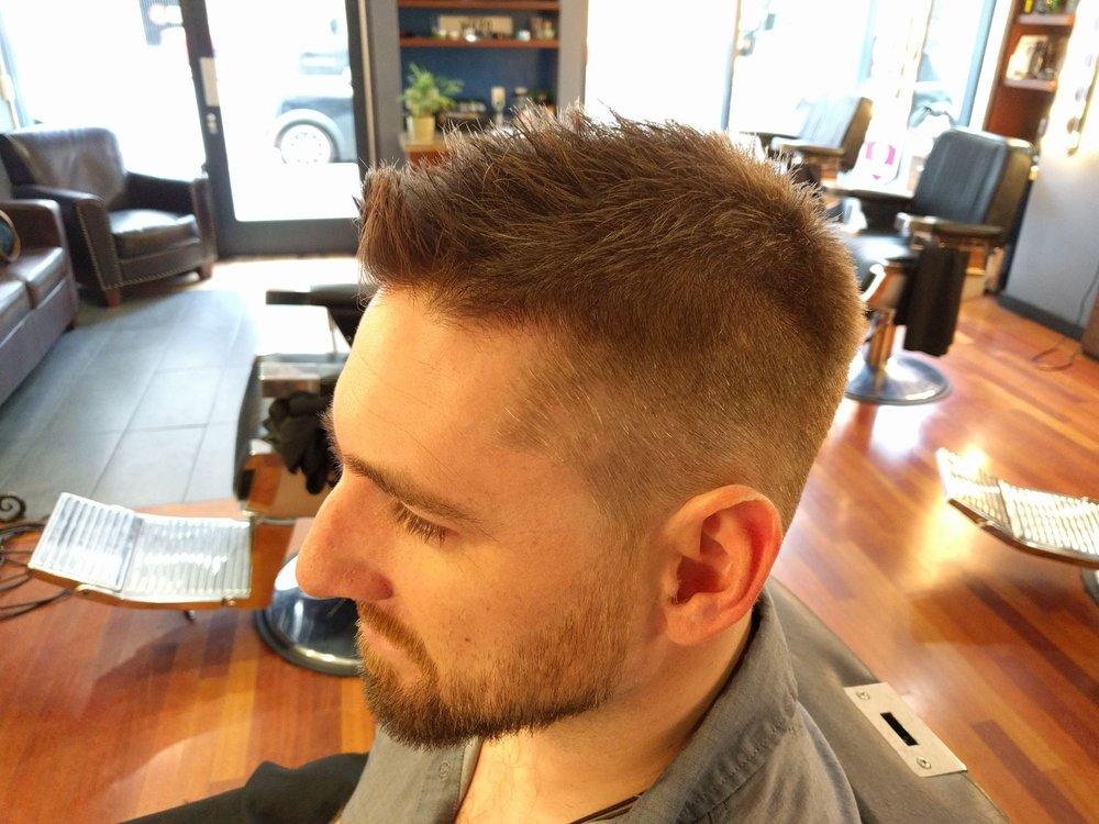 Francesco Gave Me A Great Cut I Have Difficult Hair Double