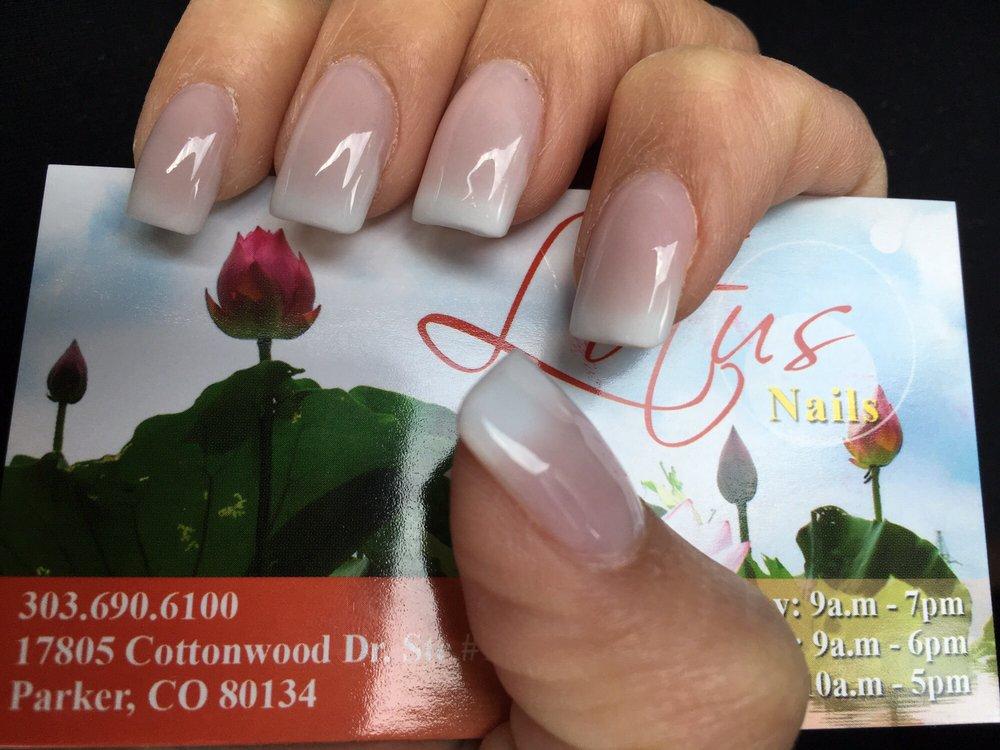 Baby boomer nails from Lotus Nails & Spa - Yelp