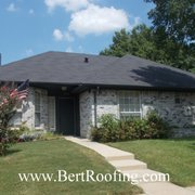 New Roof Installed By Photo Of Bert Roofing   Dallas, TX, United States.  Bert Roofing Inc Installed ...