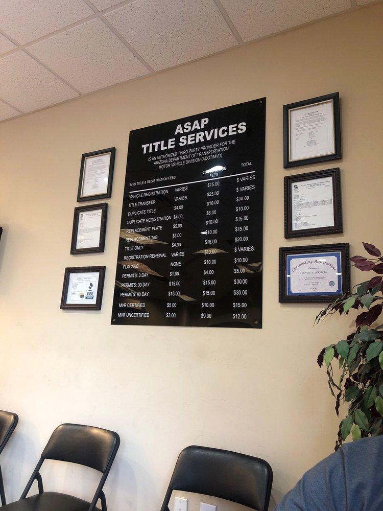 Asap Title Services: 8729 S Kyrene Rd, Tempe, AZ