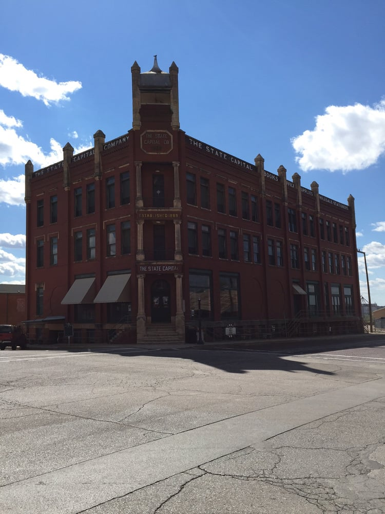 State Capitol Publishing Museum: 301 W Harrison Ave, Guthrie, OK