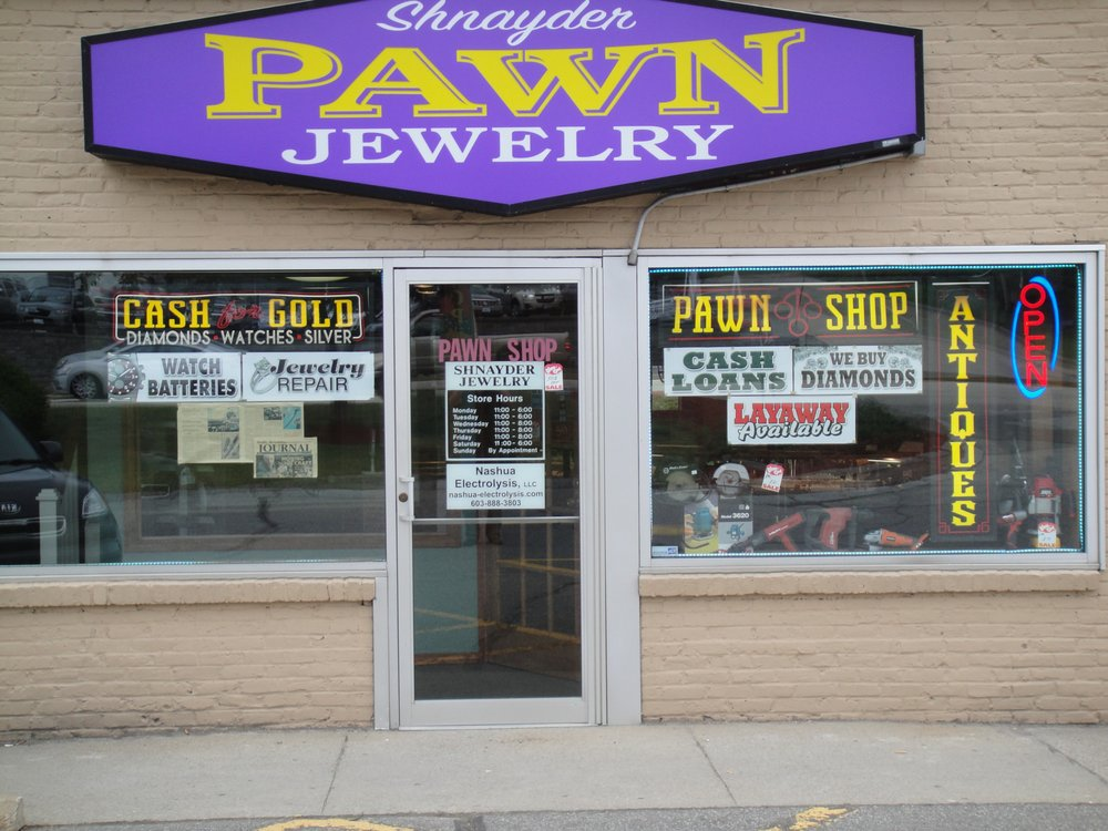 Shnayder Jewelry and Pawn Shop: 110 Daniel Webster Hwy, Nashua, NH