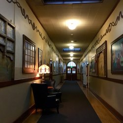 Photo Of Mcmenamins Kennedy School Portland Or United States Hall Way