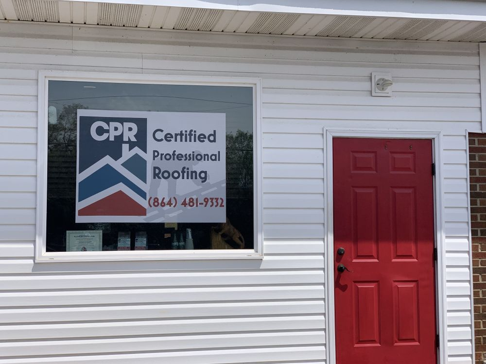 Certified Professional Roofing: 6250 Us-76, Pendleton, SC