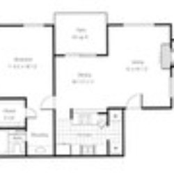 Timberlodge - Dallas, TX, United States. A2 floor plan. With washer ...