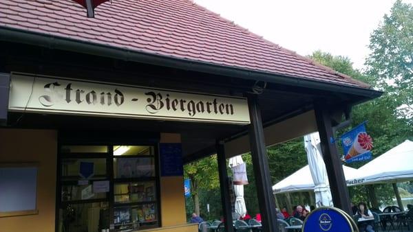 Strand Biergarten Beer Garden Badehalbinsel 2 Absberg Bayern