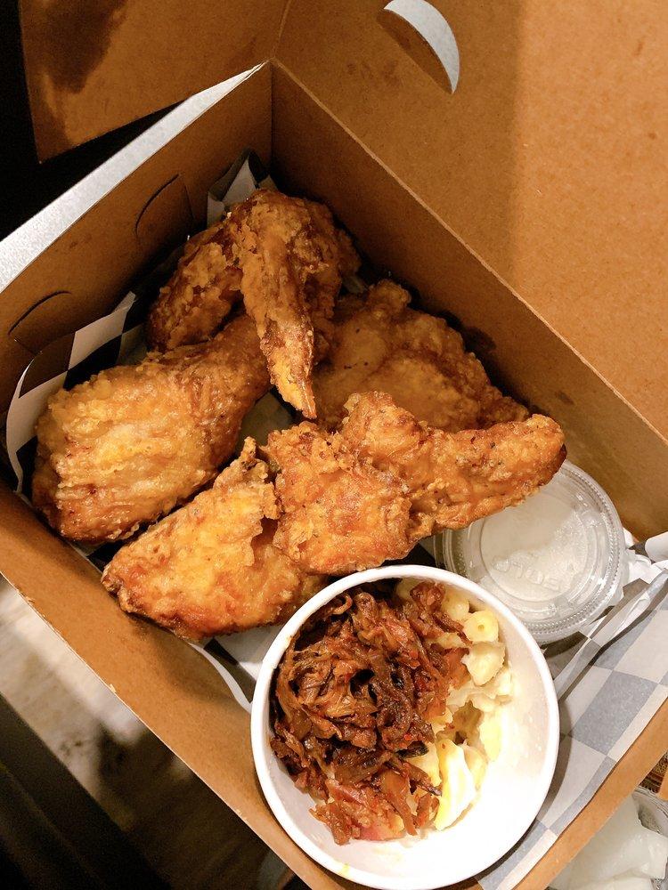 Food from Mukja Korean Fried Chicken