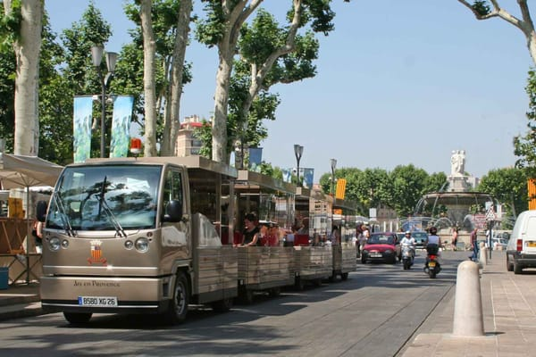 le mini tram d aix en provence ausfl ge touren 6 cours mirabeau aix en provence. Black Bedroom Furniture Sets. Home Design Ideas