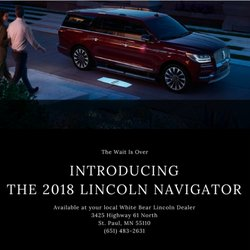 navigator st van new dealer mo lincoln medium and front car suv louis truck