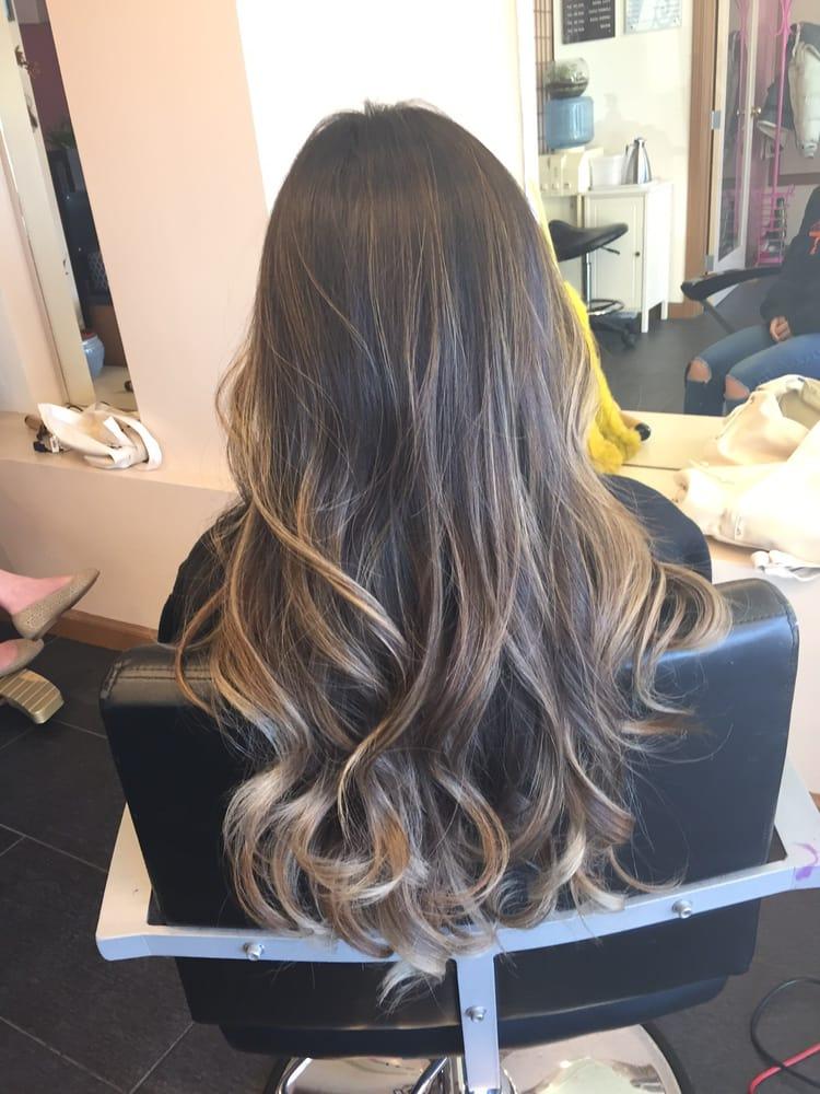 Highlighted Asian Hair 117
