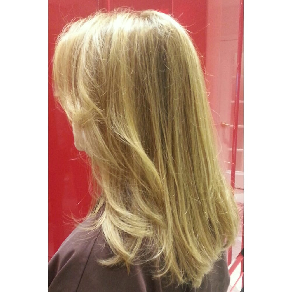 Natural Lowlight Color Styling By Hair Colorist Harold Egan For
