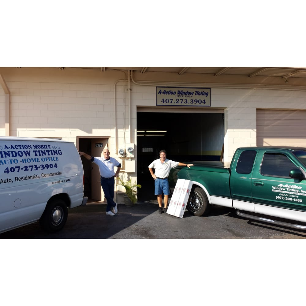 A-Action Mobile Window Tinting: 6392 Old Cheney Hwy, Orlando, FL