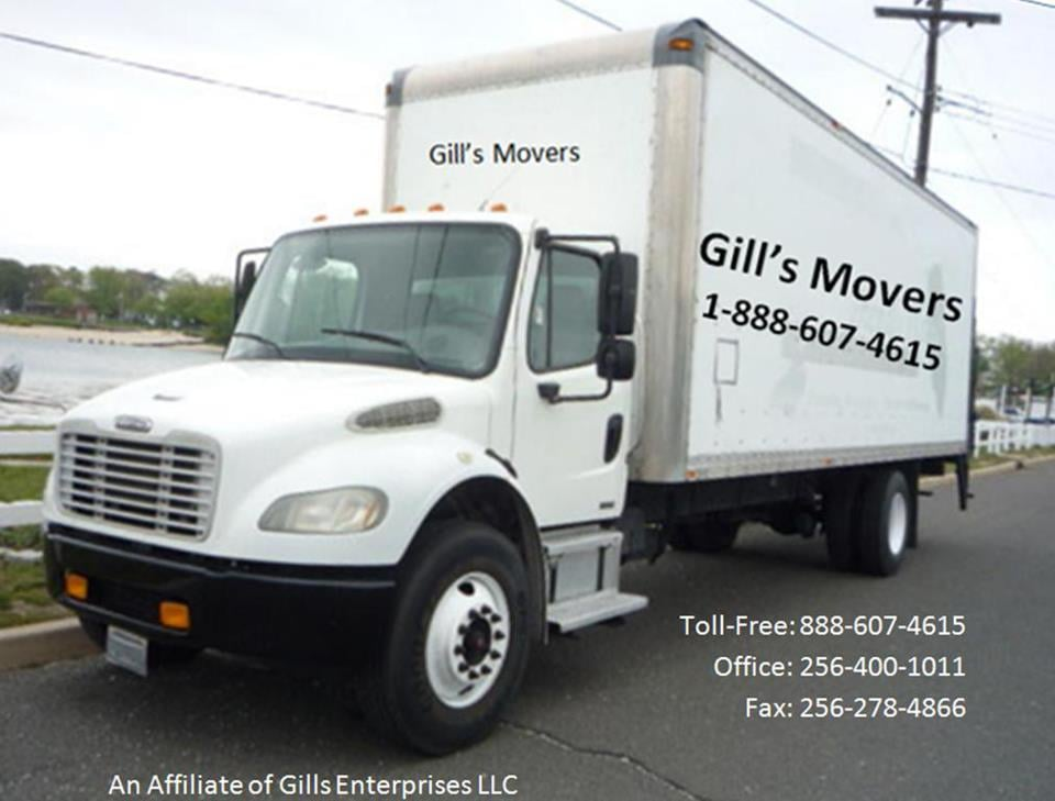 Gill's Movers: Athens, AL