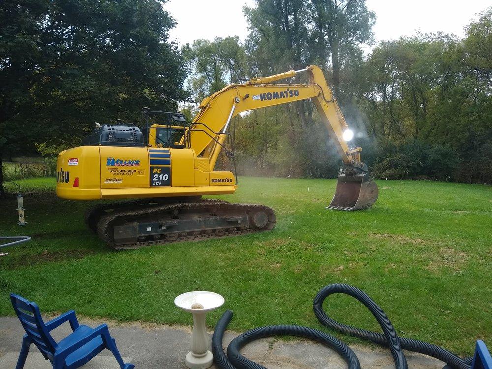 Ray Wollner Excavating: 8309 State Road 144, Kewaskum, WI