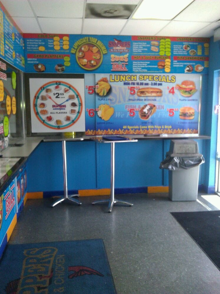 Snappers lunch specials great deal yelp for Snappers fish chicken