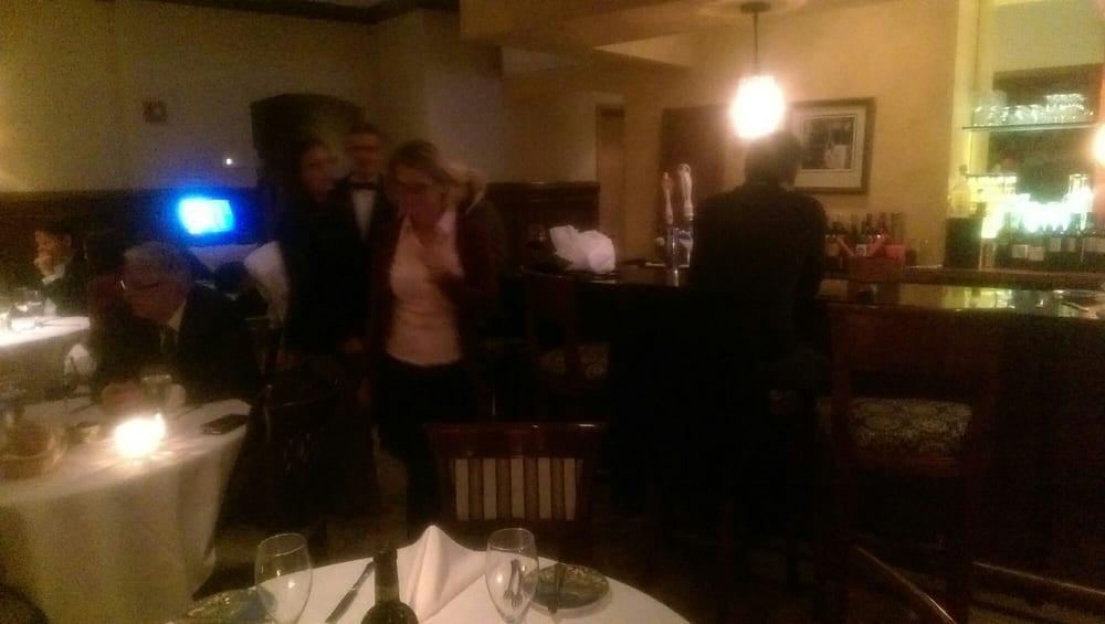 Staff mingling with patrons yelp for Giardino 54 nyc