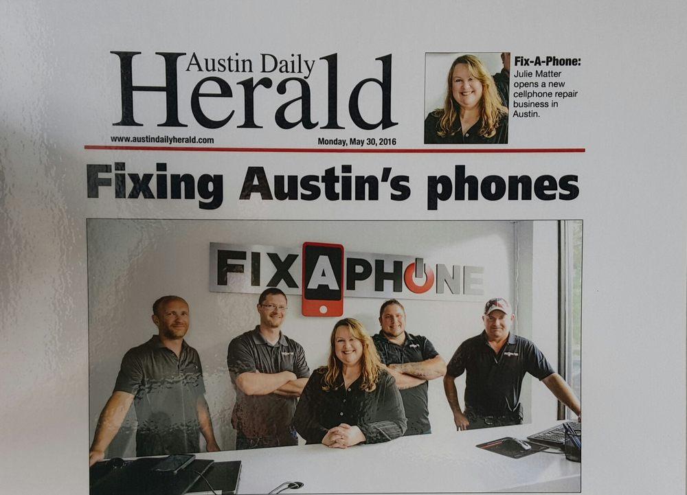 FixAPhone: 1002 W Oakland Ave, Austin, MN
