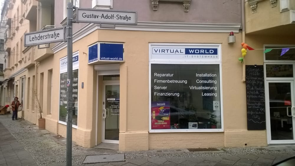 virtual world it services computer laptop repair gustav adolf str 3 4 prenzlauer berg. Black Bedroom Furniture Sets. Home Design Ideas