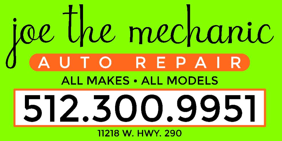 Joe the Mechanic: 11218 Hwy 290 W, Austin, TX