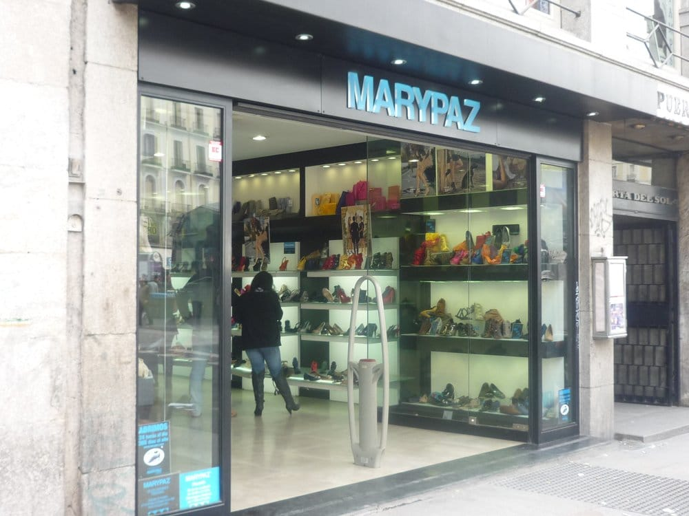 Marypaz negozi di scarpe puerta del sol 4 sol for Telefono puerta del sol