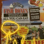 Photo Of Fish Bones Restaurant Virginia Beach Va United States