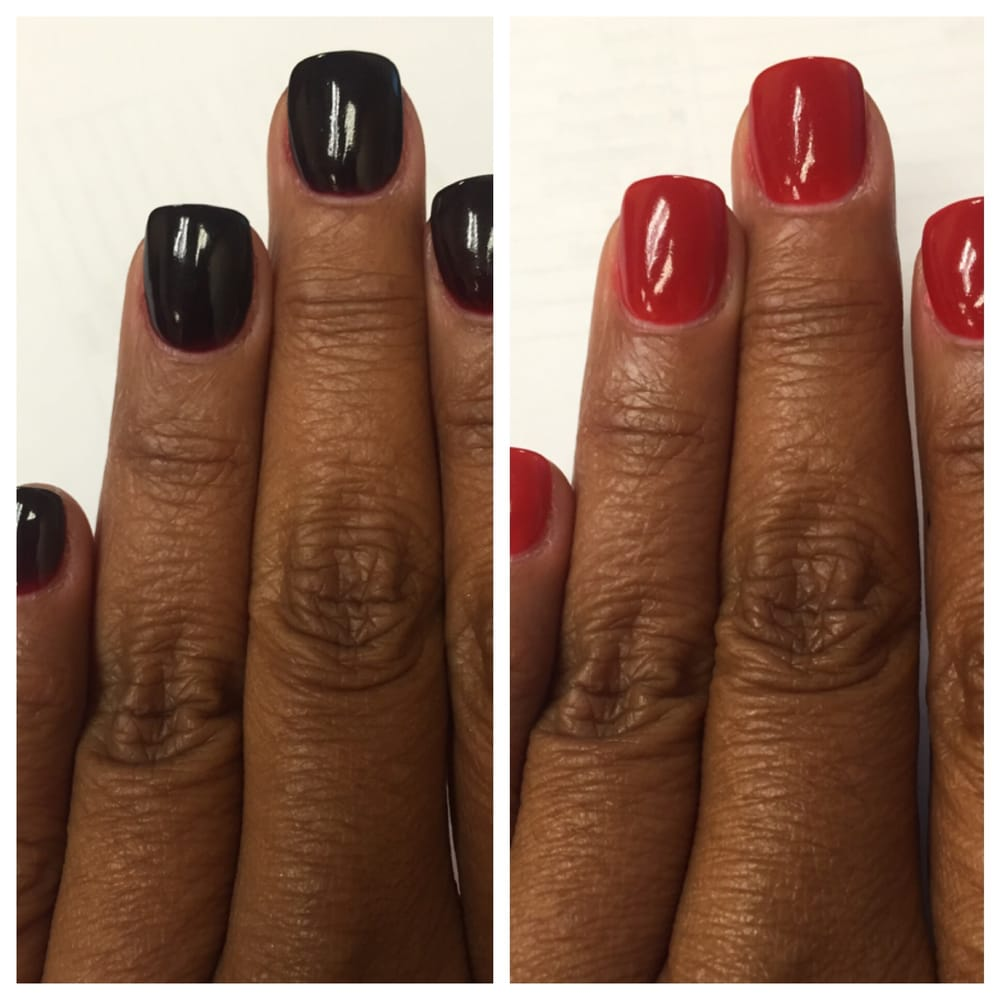 Sweet Nail And Spa: Twice As Fun! Same Day, Two Colors!