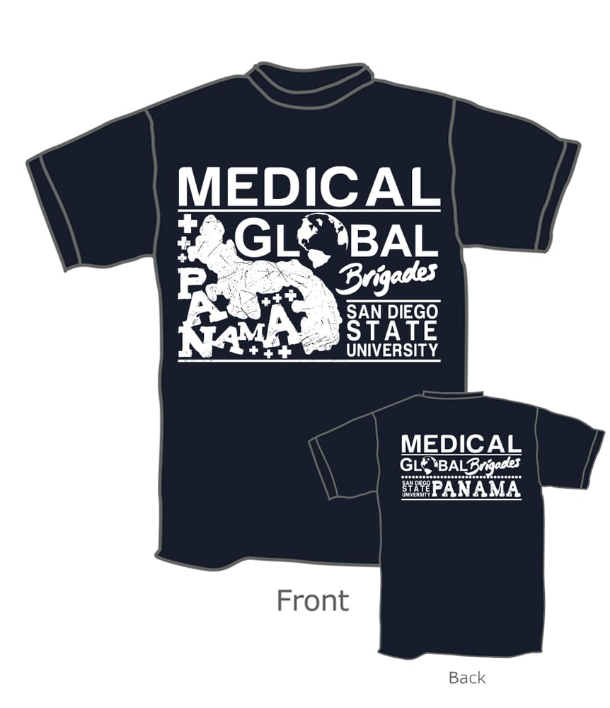 T Shirt Design For The Medical Global Brigade Yelp