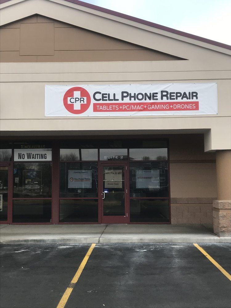 CPR Cell Phone Repair Spokane North: 9502 N Newport Hwy, Spokane, WA