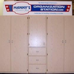 Charmant Photo Of Mannys Organization Station   Tucson, AZ, United States. Garage  Cabinets