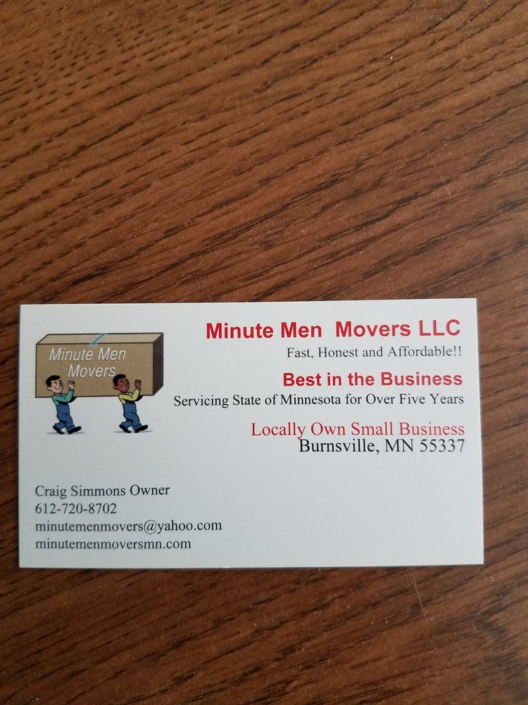 Minute Men Professional Movers - 29 Photos & 21 Reviews