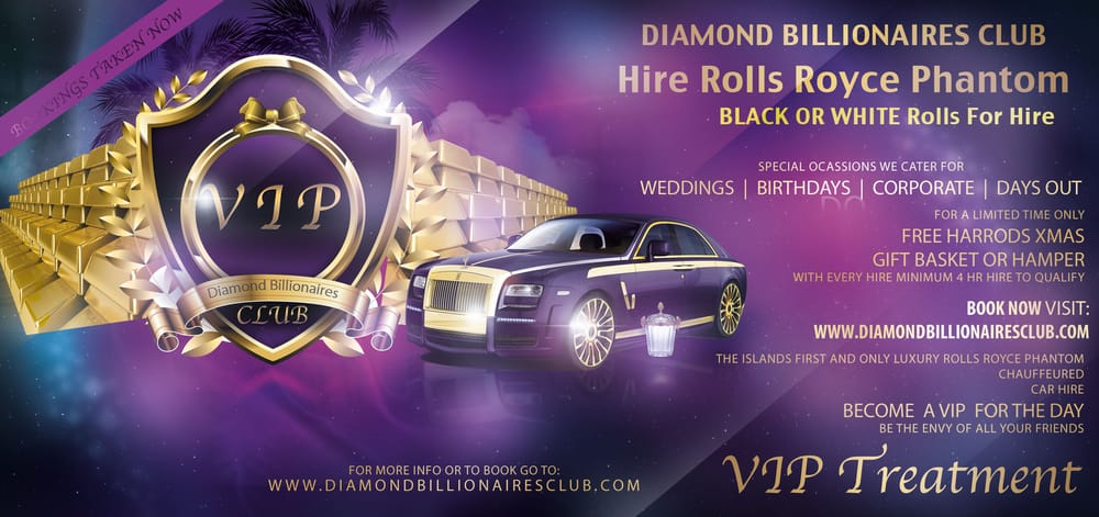 Diamond Billionaires Club Transportation 38 High Street Sandown Isle of