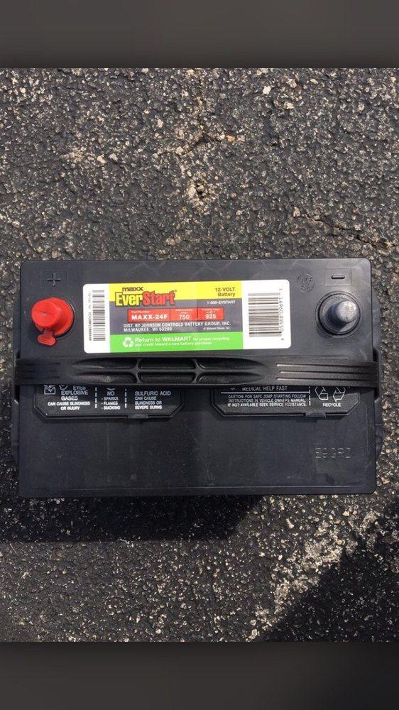 New 5 year warranty battery for Mrs  Texas' van $117    I'll
