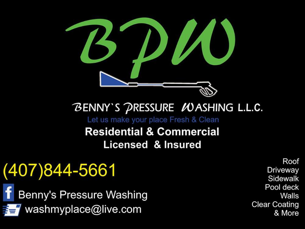 Benny's Pressure Washing: Orlando, FL