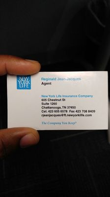 New york life insurance business cards billingss reggie jean jacques new york life insurance 605 insurance card link colourmoves