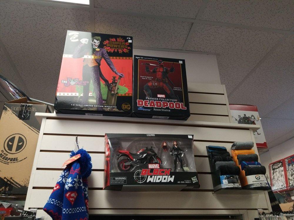 Curious Comics: 631 Johnson St, Victoria, BC