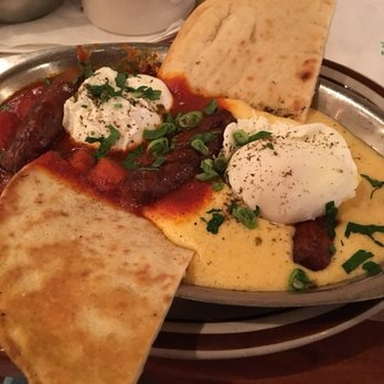 Photo of The Beehive - Boston, MA, United States. Shakshuka with Moroccan  Sausage