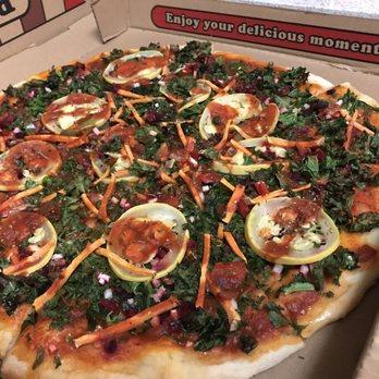 Vegan pizza in houston