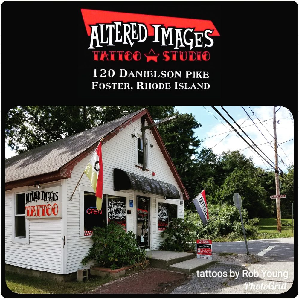 Altered Images Tattoo: 120 Danielson Pike, Foster, RI