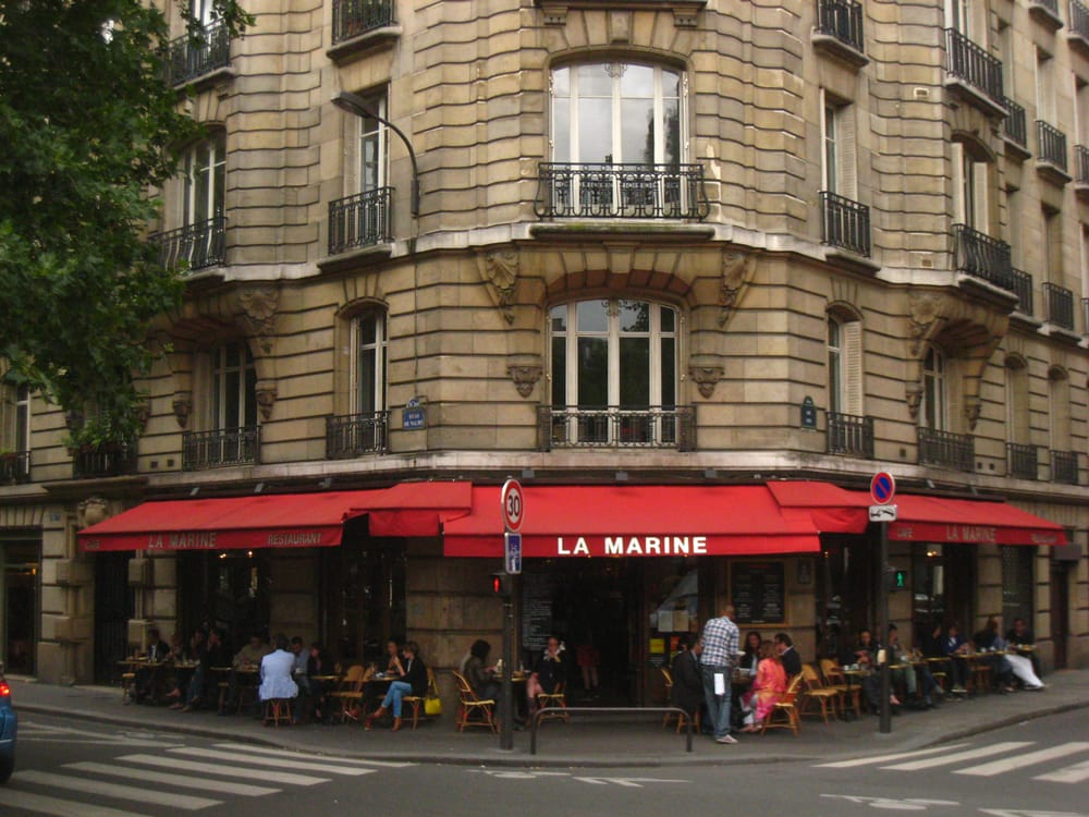 La marine quai de valmy yelp - Restaurant quai de valmy ...